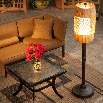 Tonga Outdoor Patio Floor Lamp   Lamps At Hayneedle