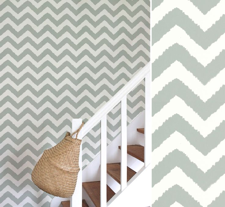 papier peint widenor chevron thibaut design - Au fil des couleurs