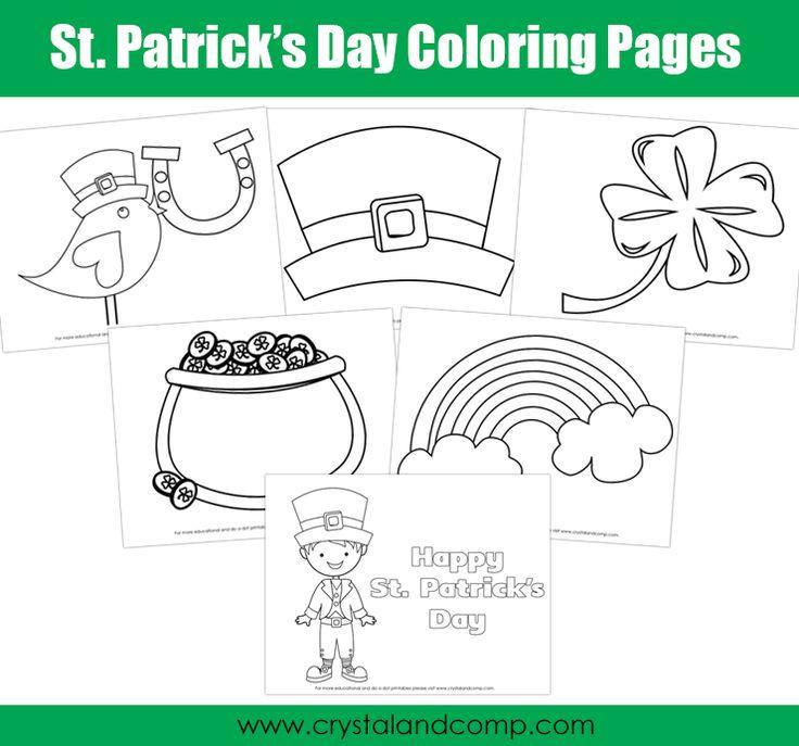 Shamrock Coloring Page