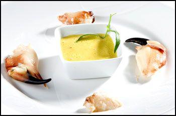 Krabbeklør med soppaioli