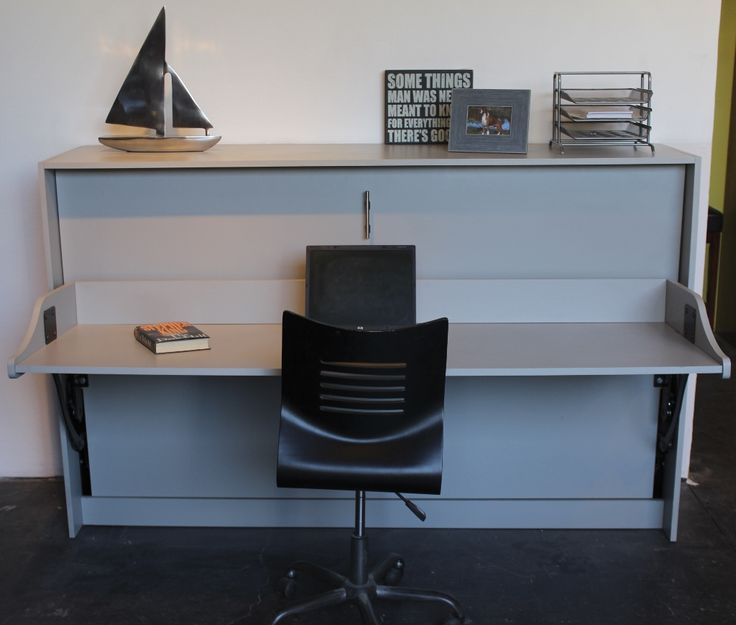 Twin Horizontal Murphy Deskbed For The Student Desk
