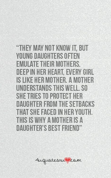 mother daughter quote tumblr relationship