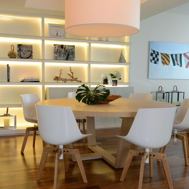 Trendy Round Extendable Dining Table Ideas For Your Simplicity