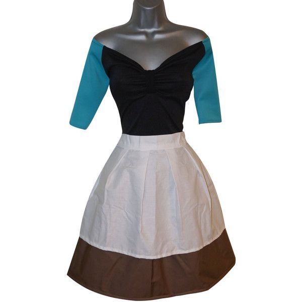Adult Princess Cinderella Rag Peasant Work Brown Fancy Dress Costume... ($53) ❤ liked on Polyvore featuring costumes, cinderella halloween costume, adult princess halloween costumes, ladies costumes, princess halloween costumes and princess costume
