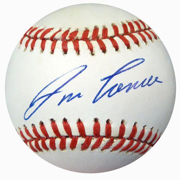 Jose Canseco Autographed Official AL Baseball Oakland A's Beckett BAS #B62202