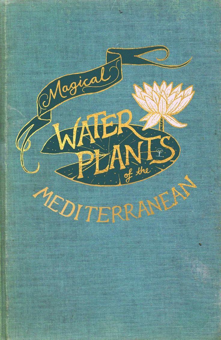 Couverture du livre de Harry Potter. Les plantes aquatiques magiques de la Méditerranée. Holly Dunn D …   – NEVILLE LONGBOTTOM