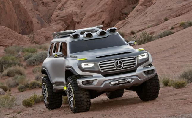 2025 Mercedes G-Class Previewed in Ener-G-Force Concept. For more, click http://www.autoguide.com/auto-news/2012/11/2025-mercedes-g-class-previewed-in-ener-g-force-concept.html