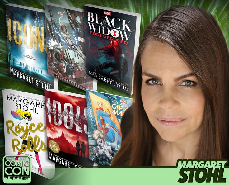 Meet author & video game creator Margaret Stohl at #SLCC17! Known for Beautiful Creatures, Marvel's Black Widow, Icons and more! #utah