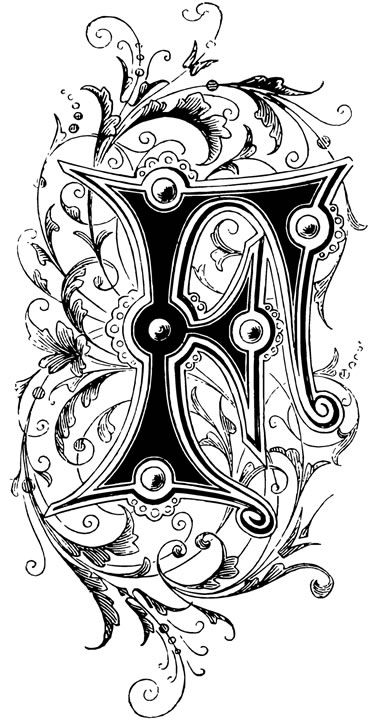 Dover Publications- Initial letter F