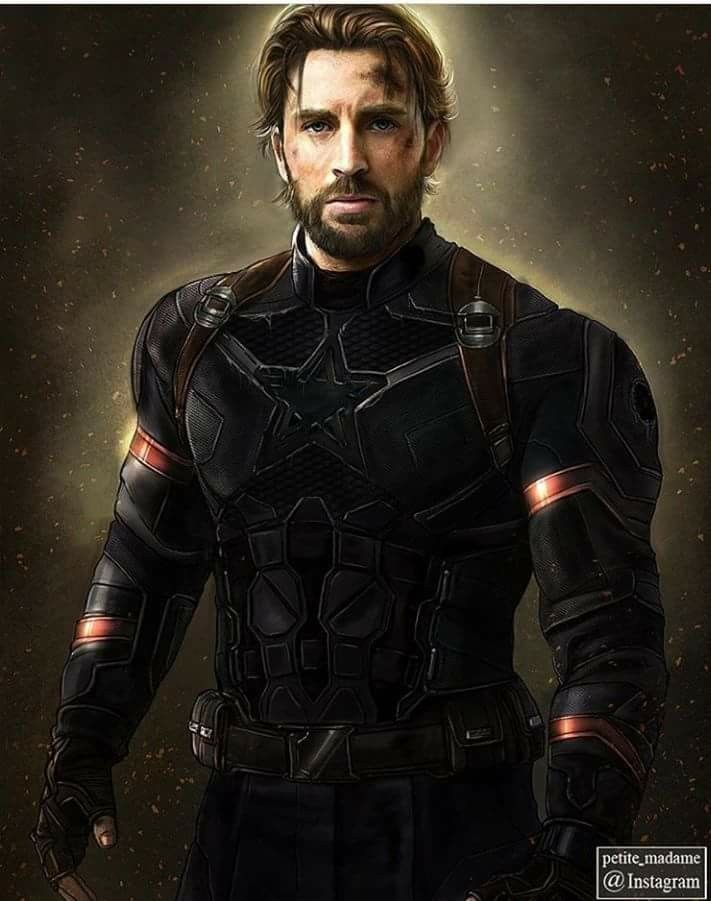 Fanart(?) of Cap's new style. I never was a Captain-fan, so i don't really care, how he looks like. I really intrested in IW!