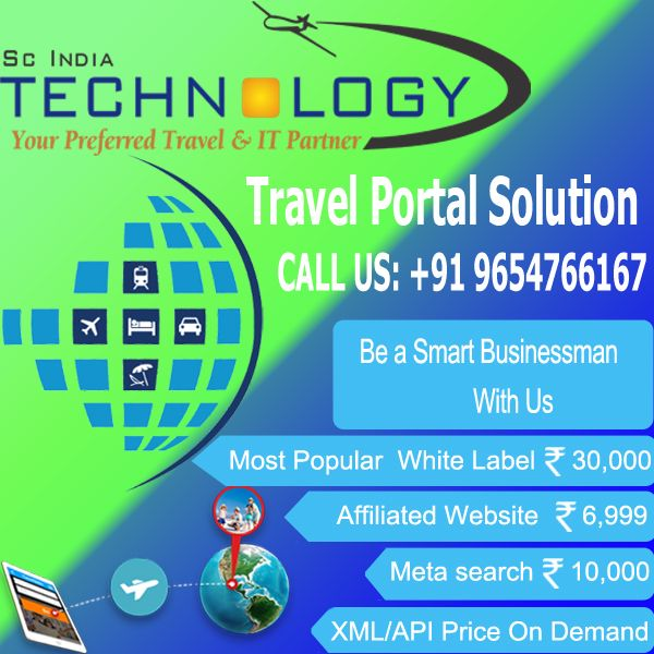 Get Travel Portal with GDS API Integration (Flight + Hotel + Car + Tour Packages) in very Low price. more detail visit now - http://www.travelportalsolution.com