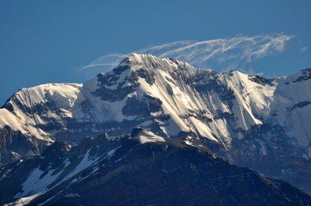 Aconcagua  from Uspallata Pass