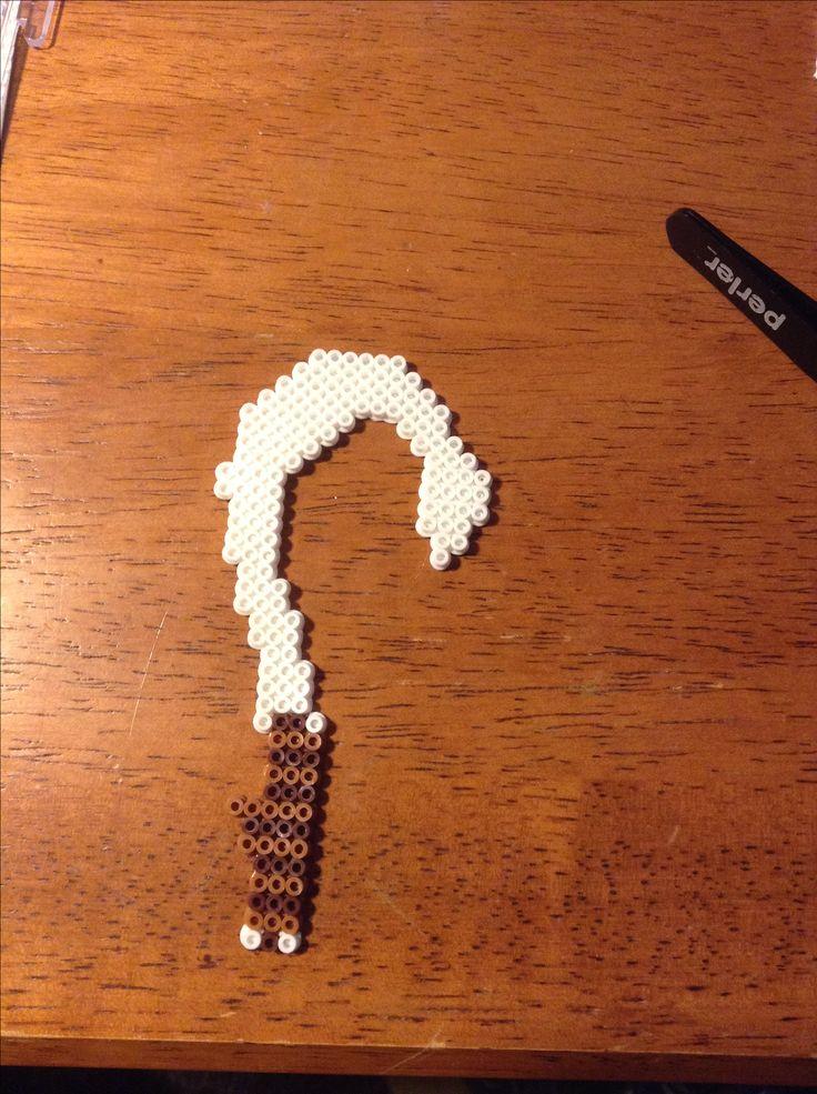 Maui fish hook | Maui fish hook fuse bead pattern | Hama ...
