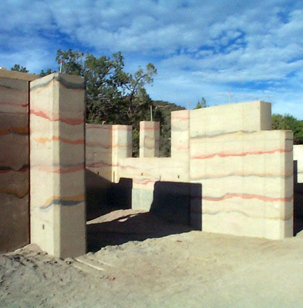 LOVE The Colors Here Rammed Earth Home Designs