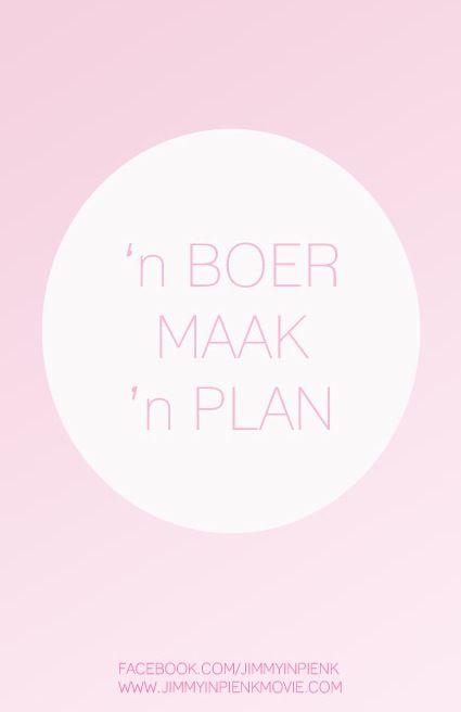 `n boer maak `n plan