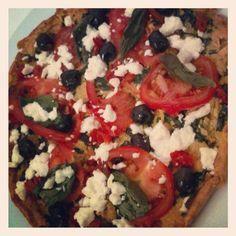 Sweet potato and basil pizza base « FODMAP free living