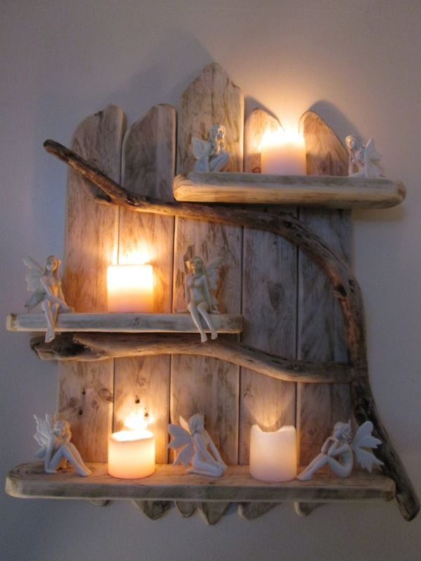 Charming Natural Genuine Driftwood Shelves Solid Rustic Shabby Chic Nautical.