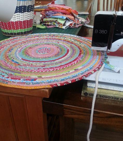 fabric rug by ric rac