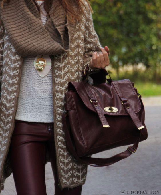 brown on brown.