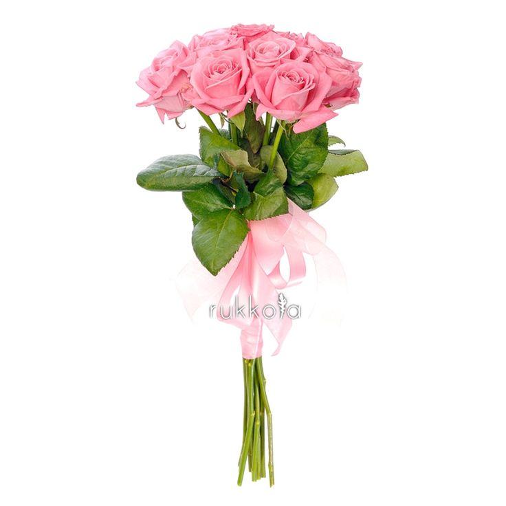 Розовые розы – символ изысканности и элегантности. Розовый цвет имеет самую богатую гамму оттенков. Подарив розы вишнёвого или ярко-розового цвета, можно выразить свою благодарность, а нежно-розовые розы расскажут о вашей симпатии к получателю. Розовые розы символизируют часто начало отношений, намекает на любовь, которая разгорится в скором будущем.