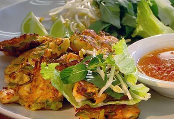 Hanoi prawn cake