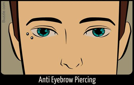 anti-eyebrow piercing