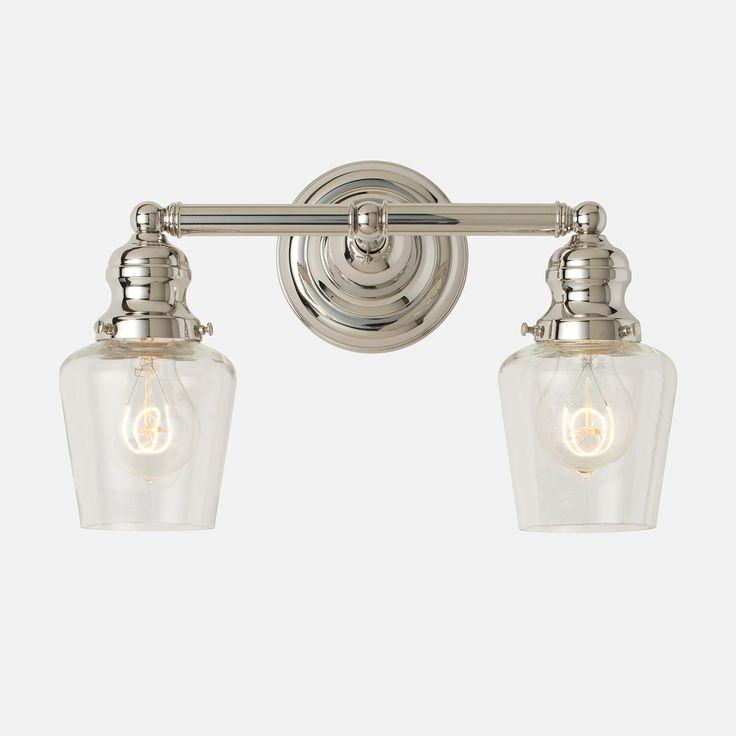- Schoolhouse bathroom vanity light ...
