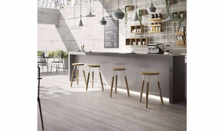 NUOVOCORSO | Shelby floor tiles Wood-effect planks, 180 cm long, exceptionally realistic, with the grains and imperfections of the natural matter. 6 essences, some cold and modern studied for the esteemed commercial settings, some more classic with the typical tones for the house.