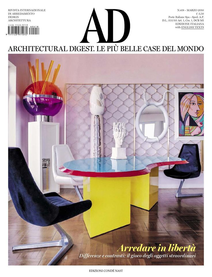 Ad architectural digest marzo 2016 by moncsi - issuu