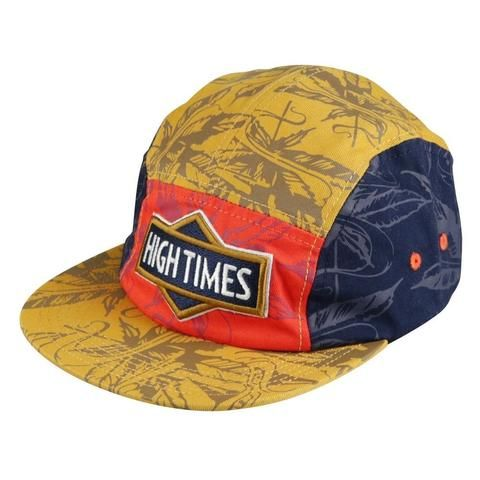 High Times® 5 Panel Hat - Multi Color - The Hippie House