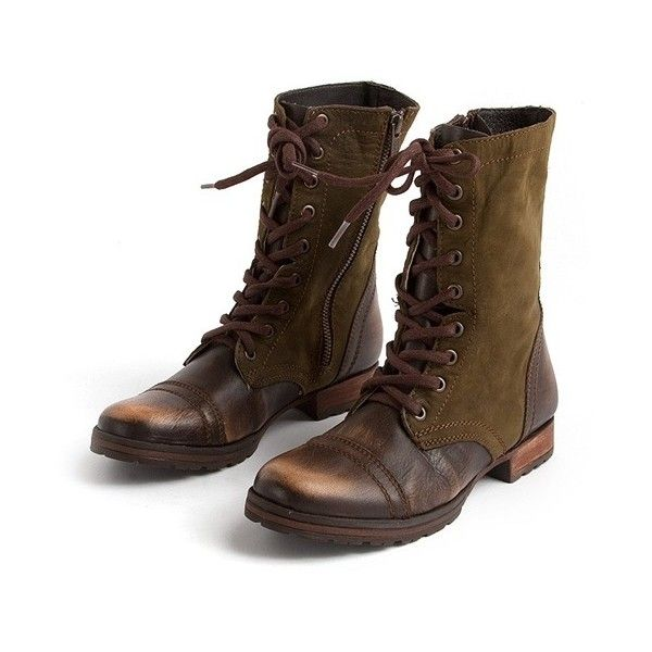 17 Best Ideas About Women S Military Boots On Pinterest