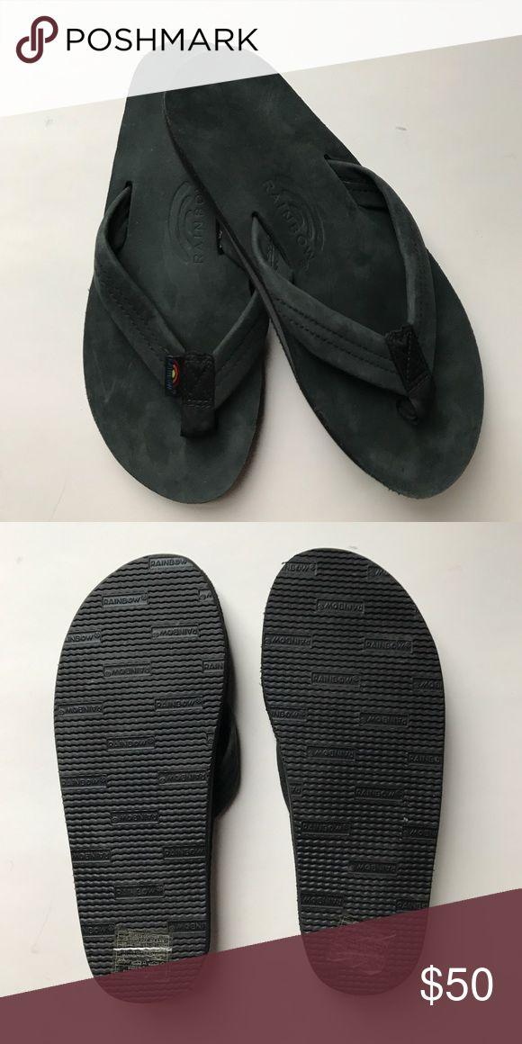 Flip flops Rainbow Flip Flops Men's size 8.5-9.5 Rainbow Shoes Sandals