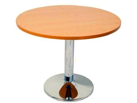 Chrome Base Round Table