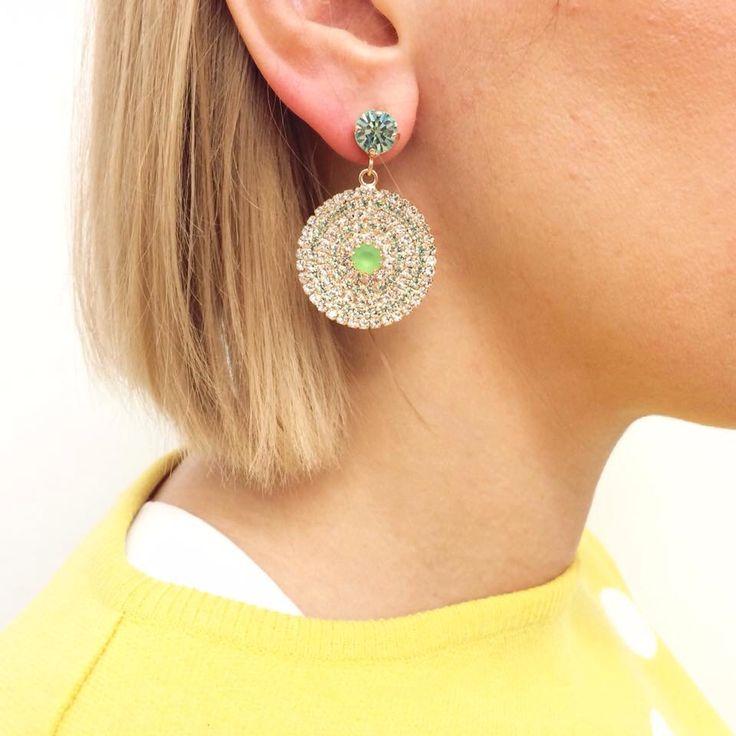Orecchini Even Langella - Guarda altri modelli su goo.gl/vOYB2s #earrings…