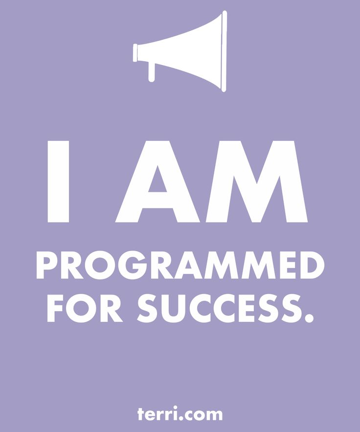 I AM PROGRAMMED FOR SUCCESS! Your words are powerful and the words you speak about yourself are even more powerful. Discover what to say from God's Word about your freedom, faith, finances, family, fitness, and your future dreams and goals. Program your mind for success through positive declarations and affirmations to become happier, healthier, and more productive today! Click on the Pin to order my book Pep Talk & find out more about affirmations.