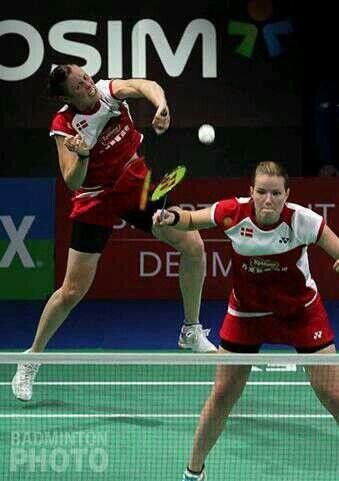 Yonex Denmark Open 2013: Yixin Bao/Jinhua Tang - Christinna Pedersen/Kamilla Rytter Juhl: 21-16 21-13