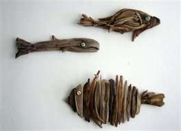 driftwood: Beaches, Crafty Creations, Diy'S Projects, Crafty Idea, Homemade Crafts, Gardens Art, Diy'S Plans, Floral Art, Driftwood Fishi