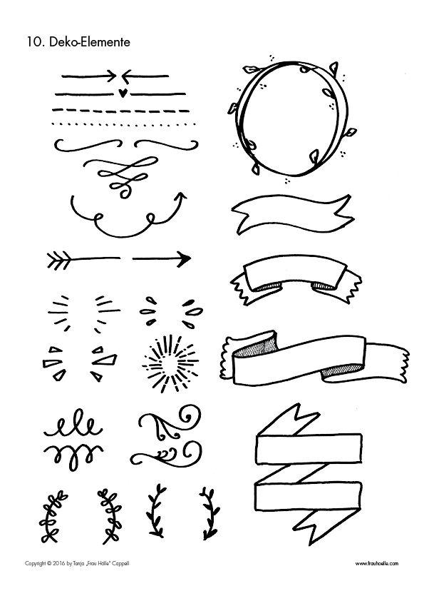 Die besten 25 Hand lettering vorlagen Ideen auf Pinterest
