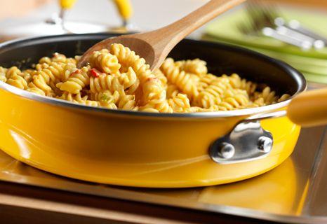 Campbell's Kitchen: Super Simple Nacho Pasta