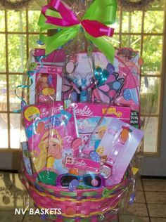 24 best easter baskets images on pinterest gift ideas gift barbie easter basket negle Image collections