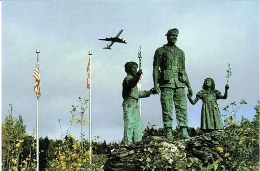 On December 12, 1985, a DC-8-63 aircraft operated by Arrow Air crashed on takeoff from Gander, Newfoundland, killing all 256 passengers and crew on board. The crash remains today the deadliest air accident to occur on Canadian soil. (Silent Witness Memorial)