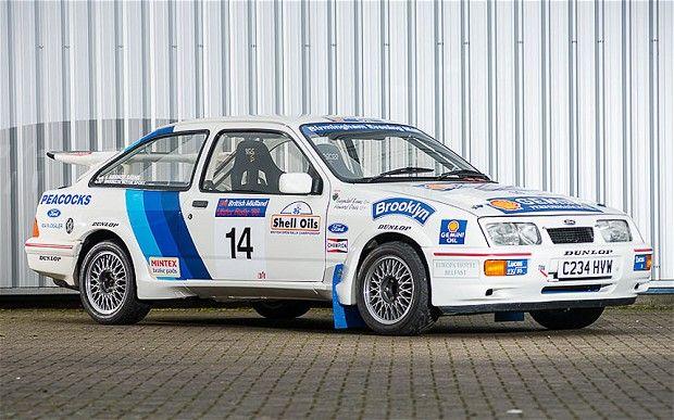 Ford Sierra Cosworth Group N rally car
