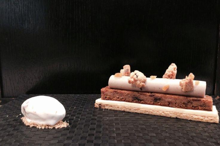 image-17. (...) il pastry chef Galileo Reposo e la Stracciata aspra di prugne Agrimontana. Una conserva che si presenta come una confettura con grandi e abbondanti pezzi di frutto al suo interno, interessante per gli abbinamenti che si possono inventare.