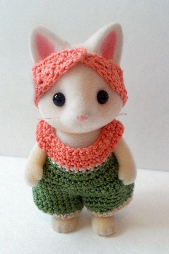 Calico Critter Crochet -- Crochet Jumper