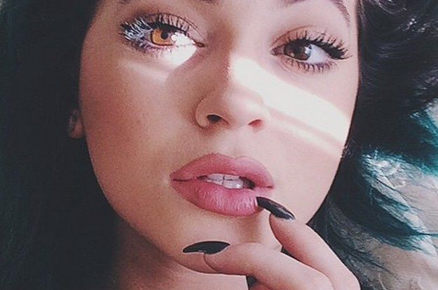 Proof That Kylie Jenner Really Hasn't Had Lip Surgery buzzfeed.com