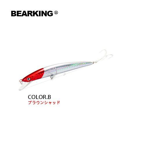 Equipamento de pesca de varejo Modelo Hot A + iscas de pesca, Bearking cores sortidas, 120mm 18g, iscas duras