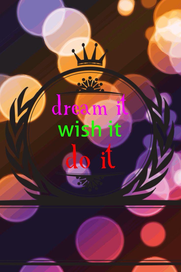 Soñar pedir y hacer