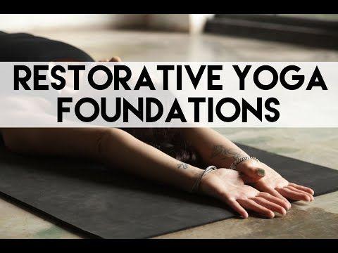 yogacandace  youtube  restorative yoga restorative
