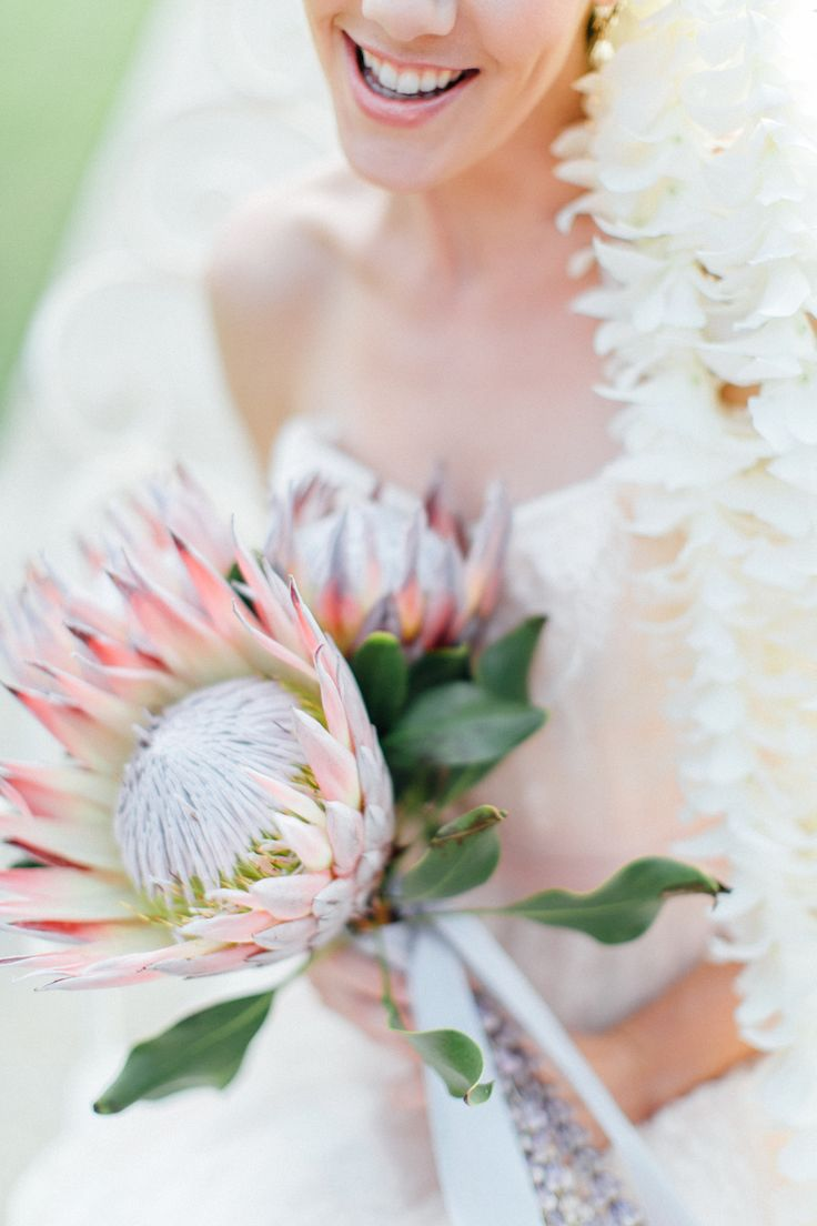 Photography: Carmen And Ingo Photography - carmenandingo.com  Read More: http://www.stylemepretty.com/2014/05/23/romantic-hawaiian-bridal-inspiration/