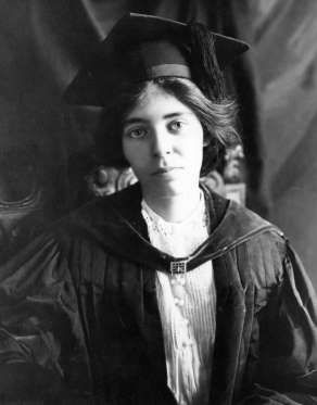 ALICE PAUL (1885-1977)  Alice Paul was a women's rights activist who led the suffrage movement in the United States and later founded the National Women's Party with Lucy Burns. She was a key figure in pushing through the passage of the 19th Amendment in 1920, which banned sex discrimination in the right to vote.